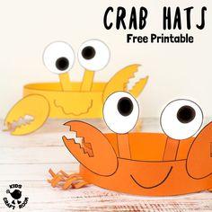 Cute and Fun Crab Hats