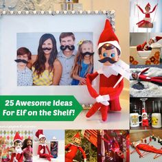25 Awesomely Fun Elf on the Shelf Ideas! - diycandy.com