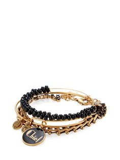 Chief Charm Bracelets (Set of 3) by Alex & Ani at Gilt