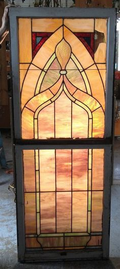 Stained Glass, Window,