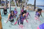 Watery fun in the lazy river!