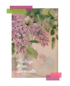 Digital Washi Tapes/Vintage Rose Brocante