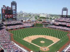 I want to be here with a beer. Warm weather can't come soon enough!! Citizens bank Park, Philadelphia Phillies