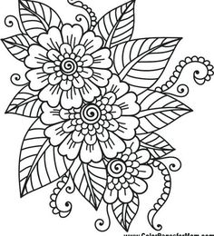 Flower Coloring Sheets Flower Coloring Page 41 Coloring Easy Coloring Pages Skylark And Flowers Coloring Page Free Printable Coloring Roses Flowers Coloring Page Free Printable Flower Coloring Sheets, Printable Flower Coloring Pages, Easy Coloring Pages, Free Adult Coloring Pages, Mandala Coloring Pages, Coloring Pages To Print, Coloring Books, Kids Coloring, Mandala Flower