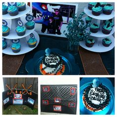 San Jose Sharks Theme Party Games Included Water Hockey Shoot The Puck And