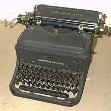 I would love an old typewriter!