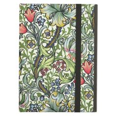 "<br> <img src =""https://lh4.googleusercontent.com/-jIzM-5sp_KE/UU4gSVyZzRI/AAAAAAAADEU/2L--iWNyzks/s740/William+Morris+Golden+Lily+Powis+iPad+case+v.png""> <br><br><font size =""3.5"">Add a touch of English country cottage charm to your iPad with this beautiful William Morris Golden Lily floral chintz pattern Powis iPad case with kickstand. <br><br> <i>Golden Lily</i> is at once elegant and uplifting You feel as if you are peeking through a lattice fence at the profusion of spring flowers and…"