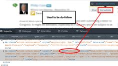 "I regret to say that the ""visit website"" link on contributor questions is no longer a do-follow link from AVVO Pro member accounts."