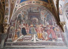 12 Best Things to Do in Siena Tempera, Fresco, Giovanni Bellini, Fra Angelico, Santa Maria, Perspective Drawing, Mural Painting, 15th Century, Siena