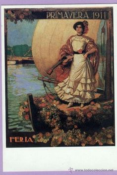 Cartel Feria de Primavera de Sevilla 1911