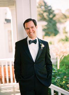 handsome groom in a tux   Tanja Lippert #wedding
