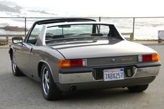 This 1974 Porsche 914 has been transformed into a very clean 914/6 reproduction, with a rebuilt 2.4L 6-cylinder from a 911 fitted with dual ...