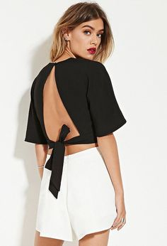 To pair with luxe shorts or trousers: Forever 21 the fifth label modern love top… Victoria Secret Outfits, Summer Fashion For Teens, Teen Fashion, Fresh Tops, Forever 21 Fashion, Creation Couture, Modern Love, Going Out Tops, Couture Week