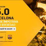 Cota 5 pentru Barcelona in meciul cu Celta Vigo