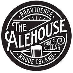 The Alehouse - English Cellar - Providence Rhode Island - Logo Design Inspiration