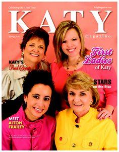 Katy Magazine, Spring 2010  in Katy, TX.   #KatyTX, #KatyMagazine, #magazine, #women, #pink  www.katymagazine.com