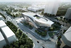 Dalian Museum Competition Design Concept / 10 Design by 10 DESIGN , via Behance