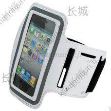 Valkoinen sporttinen käsivarsikotelo, iPhone / iPod Touch