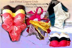 Visite a loja e confira, produtos confortáveis, lindos e sensuais com o menor preço. Lingerie Linda - Loja Virtual - Venda Online http://www.lingerielinda.com.br Whatsapp - (85) 9 8874-3928 #lingerielinda #lingerie #linda #sensual #elegante #confortavel #calcinha #sutia #conjunto #menorpreço #modaintima #amor #dedicado #mulher #feminina #moda #tempo #amorincondicional