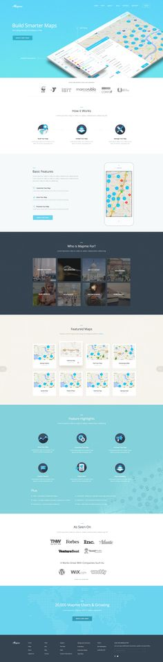 Mapme Homepage