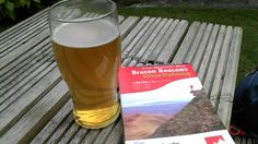 Pint of Brecon Cribyn after walking up mountain of said name.