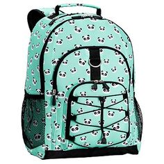 Gear-Up Pool Panda Backpack #pbteen My youngest child is going to 2nd grade and since her school mascot is a Panda, we thought this would be so fitting. Just ordered it today from PBteen.com