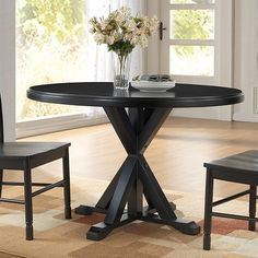 Found it at Wayfair - Fanning X Base Dining Table