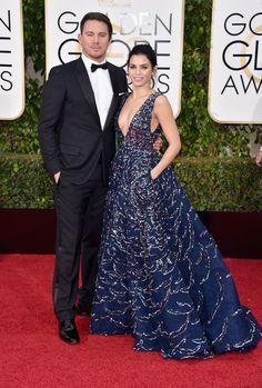 Channing Tatum and Jenna Dewan-Tatum   - HarpersBAZAAR.com