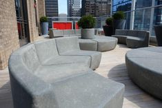 Enjoy our unique hand designed fiberglass resin and concrete aggregate chair in your indoor or outdoor space. Create your ideal outdoor experience with BOXHILL! Concrete Outdoor Furniture, Cement Patio, Pool Furniture, Outdoor Furniture Sets, Rustic Furniture, Urban Furniture, Sectional Furniture, Furniture Vintage, Industrial Furniture