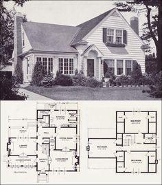 Antique Home Style: Floor Plans