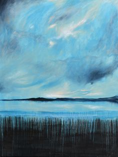 Bay of Silence - Acrylic on canvas - by New Zealand artist Julian Hindson - 900mm x 1200mm - www.hindson.co.nz Edge Of Tomorrow, New Zealand, Waves, Landscape, Artist, Painting, Outdoor, Outdoors, Scenery
