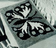Monarch Rug Pattern