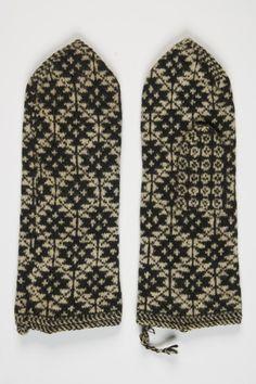 Eesti muuseumide veebivärav - kindad, labakindad, kirikindad Museums, Fiber Art, Mittens, Hand Knitting, Folk Art, Gloves, Public, Log Projects, Tricot