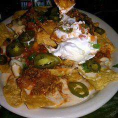 Nachos from Hideout Pub, Austin, TX