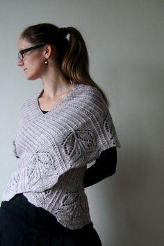 Ravelry: Hana Shawl pattern by Kristina Vilimaite