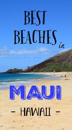 Best Beaches in Maui Hawaii. http://www.divergenttravelers.com/south-maui-beach-hopping/