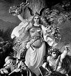 The Norns (Old Norse: norn, plural: nornir) in Norse mythology are female beings who rule the destiny of Gods and men, a kind of dísir comparable to the Fates in Greek mythology.