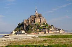 Abbaye du Mont-Saint-Michel, Normandy, France