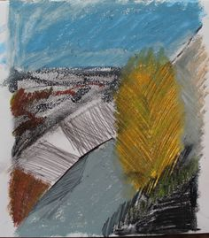 Valley View; Yellow tree