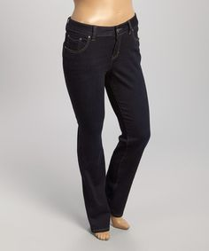Another great find on #zulily! Double Trouble Sydney Straight-Leg Jeans - Plus by Jag Jeans #zulilyfinds