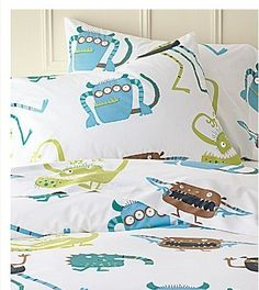 Monster bed sheets