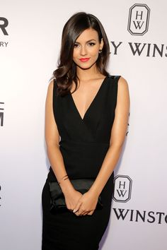 Victoria Justice attends the 2015 amfAR Inspiration Gala New York at Spring Studios on June 16, 2015 in New York City.