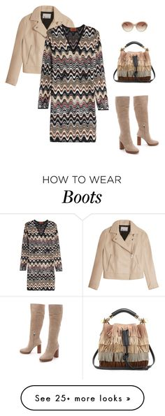 """""""Style Staple: Suede Boots II"""" by marika-pi on Polyvore featuring T By Alexander Wang, Missoni, Chloé, MICHAEL Michael Kors and Bulgari"""