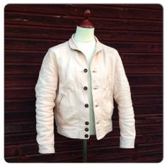 Mister Freedom Campus Leather Jacket. Made in USA. Cowhide.