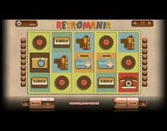 Endorphina has developed Retromania slot which has five reels and 9 paylines. Play it online and enjoy the movie video cameras and vinyl records.