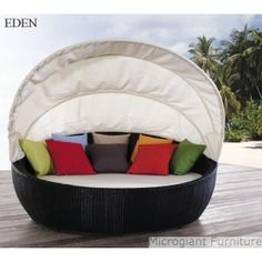 Outdoor bed. Oh My goodness, this is definitely gonna be a must have for me. I sleep outside too much not to have one already