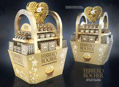 Ferrero Rocher 2017 on Behance Pallet Display, Pos Display, Store Displays, Display Design, Retail Displays, Window Displays, Display Ideas, Pop Design, Stand Design