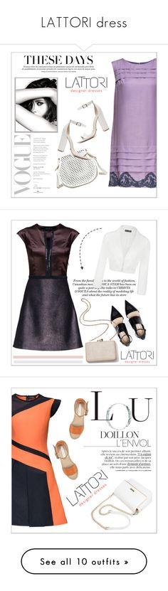 """LATTORI dress"" by water-polo ❤ liked on Polyvore featuring Lattori, Chanel, Cynthia Rowley, Schutz, polyvoreeditorial, lattori, Ally Fashion, Kayu, See by Chloé and Christian Louboutin"