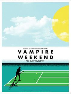 Vampire Weekend | 40 Awesome Concert Posters - Yahoo Music