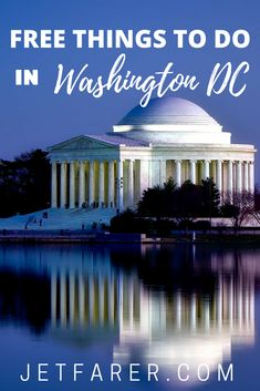 One of the most amazing things  about traveling in Washington, DC is the abundance of free things to do in the city! Need some inspiration? Here are some tips for free things to do in Washington DC that will help you plan your trip.